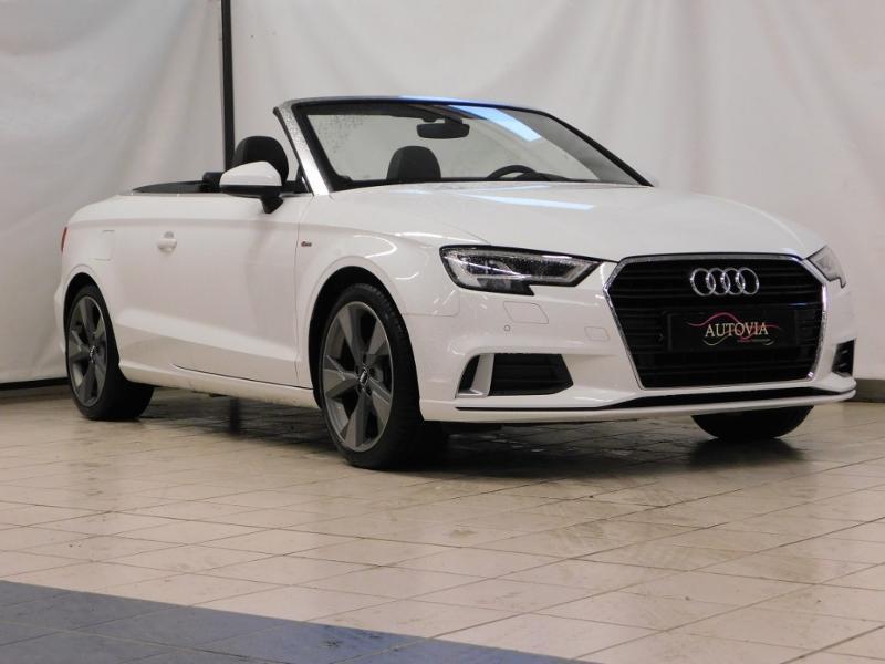 Audi A3 Cabriolet 1.5 TFSI 150ch COD S line S tronic 7 Essence BLANC Occasion à vendre