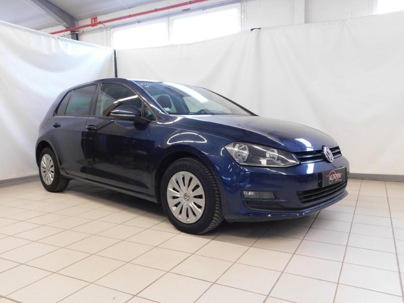 Volkswagen Golf 1.6 TDI 105ch BlueMotion Technology FAP Trendline 5p Diesel BLEU FONCE Occasion à vendre