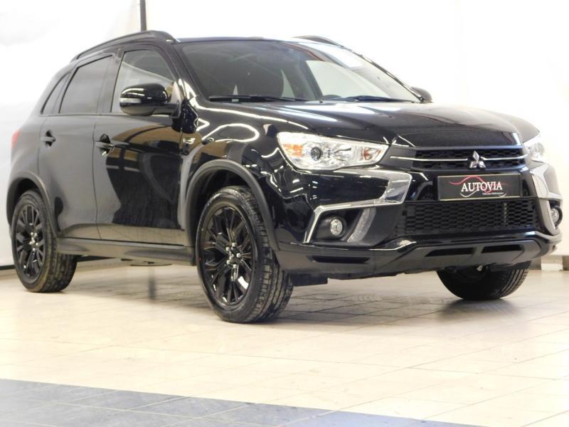 Mitsubishi ASX 1.6 MIVEC 117ch Black Collection 2WD Euro6d-T Essence NOIR METALLISEE Occasion à vendre