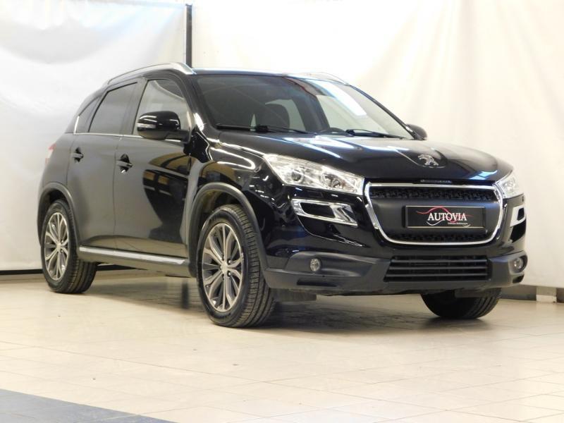 Peugeot 4008 1.8 HDi150 FAP STT 4WD Diesel noir Occasion à vendre