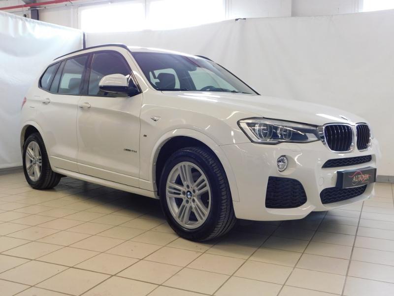 Bmw X3 xDrive20dA 190ch M Sport Diesel BLANC Occasion à vendre