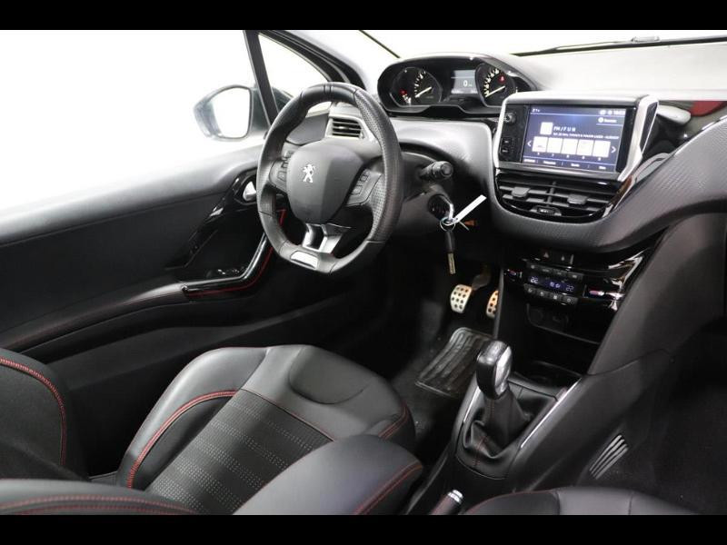 Photo 2 de l'offre de PEUGEOT 208 1.6 BlueHDi 100ch GT Line 3p à 16500€ chez Autovia Véhicules Multimarques
