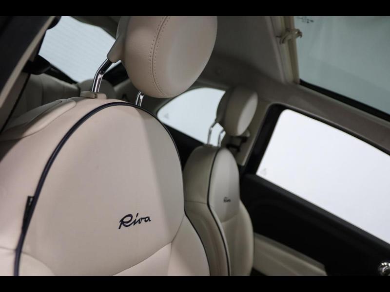 Photo 10 de l'offre de FIAT 500 1.3 Multijet 16v 95ch DPF S&S Riva (volant bois) à 15990€ chez Autovia Véhicules Multimarques