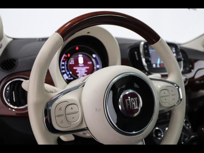 Photo 15 de l'offre de FIAT 500 1.3 Multijet 16v 95ch DPF S&S Riva (volant bois) à 15990€ chez Autovia Véhicules Multimarques