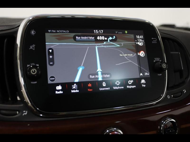 Photo 18 de l'offre de FIAT 500 1.3 Multijet 16v 95ch DPF S&S Riva (volant bois) à 15990€ chez Autovia Véhicules Multimarques