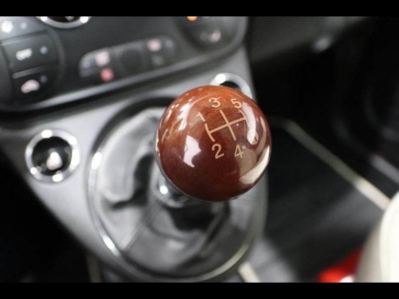 Photo 22 de l'offre de FIAT 500 1.3 Multijet 16v 95ch DPF S&S Riva (volant bois) à 15990€ chez Autovia Véhicules Multimarques