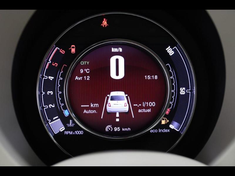 Photo 24 de l'offre de FIAT 500 1.3 Multijet 16v 95ch DPF S&S Riva (volant bois) à 15990€ chez Autovia Véhicules Multimarques