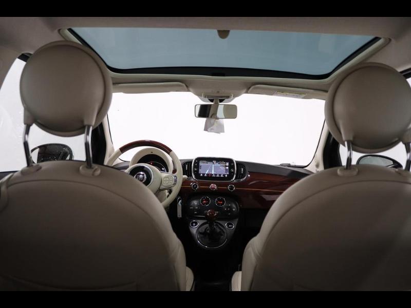 Photo 12 de l'offre de FIAT 500 1.3 Multijet 16v 95ch DPF S&S Riva (volant bois) à 15990€ chez Autovia Véhicules Multimarques