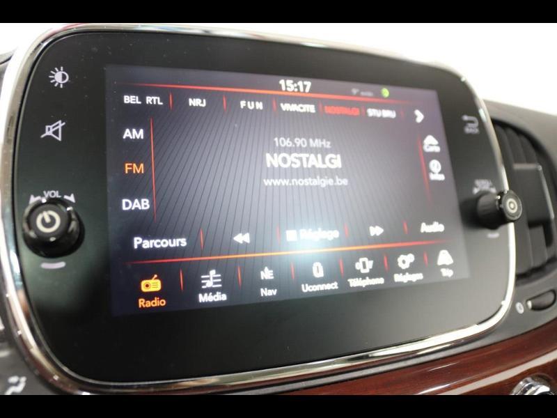 Photo 20 de l'offre de FIAT 500 1.3 Multijet 16v 95ch DPF S&S Riva (volant bois) à 15990€ chez Autovia Véhicules Multimarques