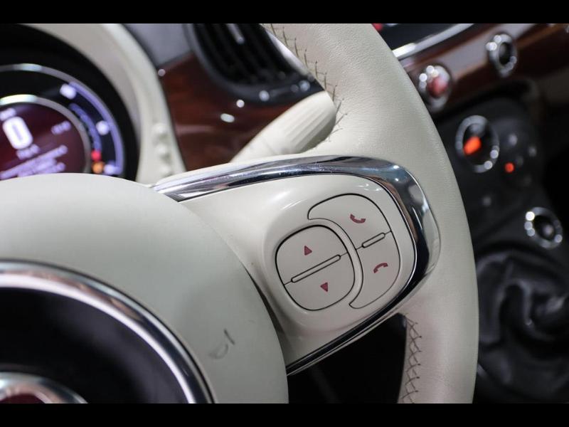 Photo 16 de l'offre de FIAT 500 1.3 Multijet 16v 95ch DPF S&S Riva (volant bois) à 15990€ chez Autovia Véhicules Multimarques