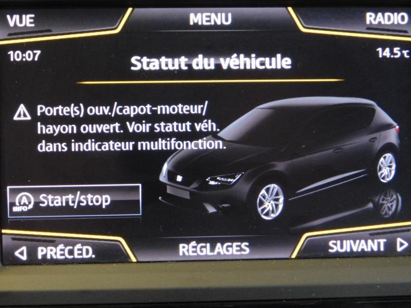 Photo 23 de l'offre de SEAT Leon 1.2 TSI 110ch Connect Start&Stop à 12990€ chez Autovia Véhicules Multimarques