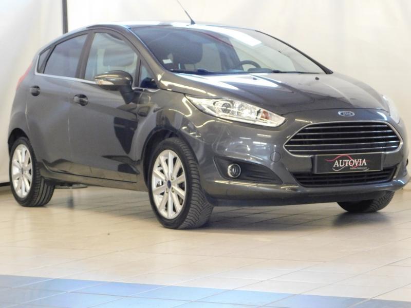 Ford Fiesta 1.5 TDCi 95ch FAP Titanium 5p Diesel GRIS F Occasion à vendre