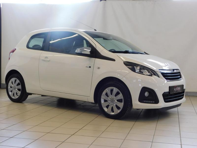 Peugeot 108 1.0 VTi Style 3p Essence BLANC Occasion à vendre