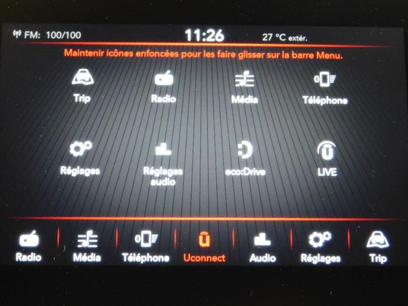 Photo 15 de l'offre de FIAT 500C 1.0 70ch BSG S&S Lounge à 16990€ chez Autovia Véhicules Multimarques