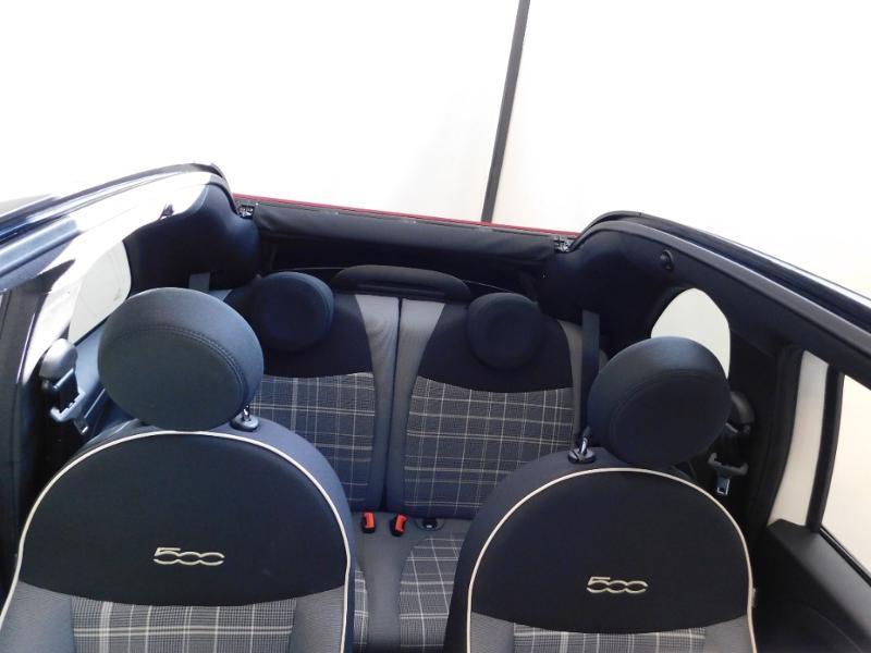 Photo 5 de l'offre de FIAT 500C 1.0 70ch BSG S&S Lounge à 16990€ chez Autovia Véhicules Multimarques