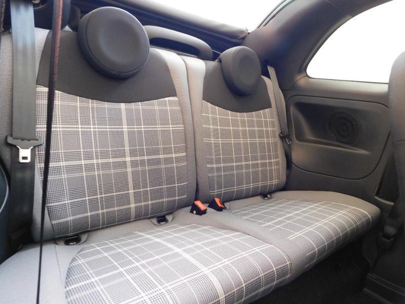 Photo 20 de l'offre de FIAT 500C 1.0 70ch BSG S&S Lounge à 16990€ chez Autovia Véhicules Multimarques