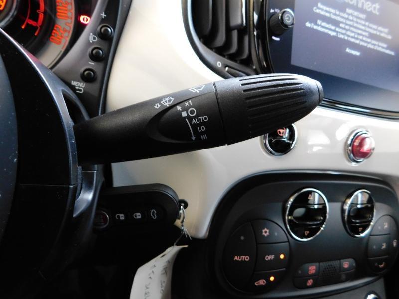 Photo 11 de l'offre de FIAT 500C 1.0 70ch BSG S&S Lounge à 16990€ chez Autovia Véhicules Multimarques