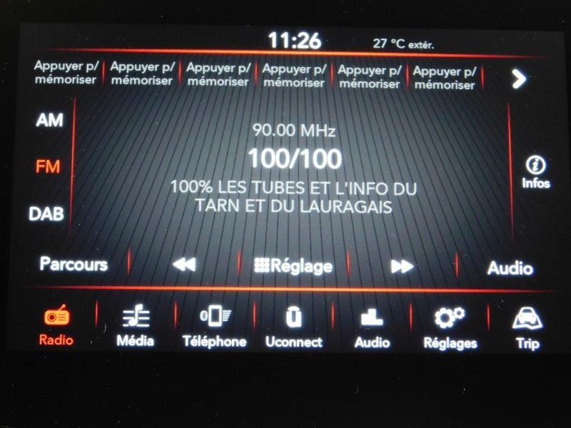 Photo 13 de l'offre de FIAT 500C 1.0 70ch BSG S&S Lounge à 16990€ chez Autovia Véhicules Multimarques