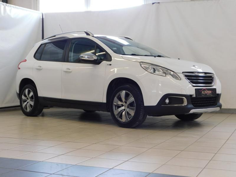 Peugeot 2008 1.6 BlueHDi 100ch Active Business S&S Diesel blanc Occasion à vendre