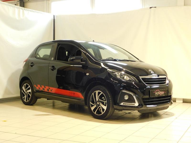 Peugeot 108 VTi 72 Allure S&S 85g 5p Essence NOIR METALLISEE Occasion à vendre