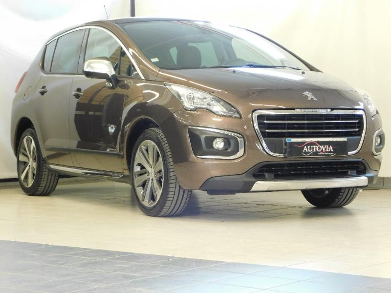 Peugeot 3008 1.6 BlueHDi 120ch Allure S&S Diesel BRUN HICKORY Occasion à vendre