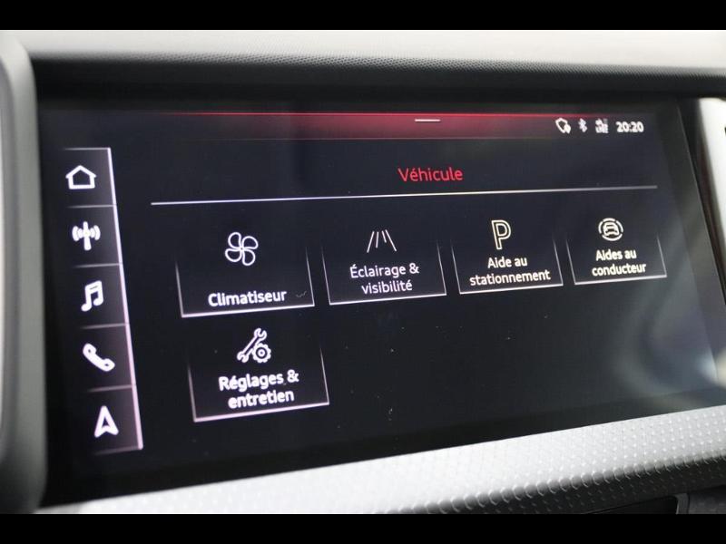 Photo 25 de l'offre de AUDI A1 Sportback 30 TFSI 116ch S line à 25990€ chez Autovia Véhicules Multimarques