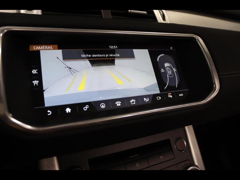 Photo 23 de l'offre de LAND-ROVER Evoque Cabriolet 2.0 TD4 150 HSE Dynamic BVA Mark IV à 43990€ chez Autovia Véhicules Multimarques