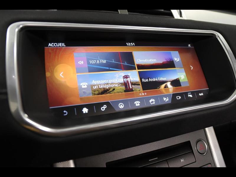 Photo 24 de l'offre de LAND-ROVER Evoque Cabriolet 2.0 TD4 150 HSE Dynamic BVA Mark IV à 43990€ chez Autovia Véhicules Multimarques