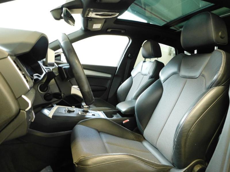 Photo 12 de l'offre de AUDI Q5 2.0 TDI 190ch S line quattro S tronic 7 à 37500€ chez Autovia Véhicules Multimarques