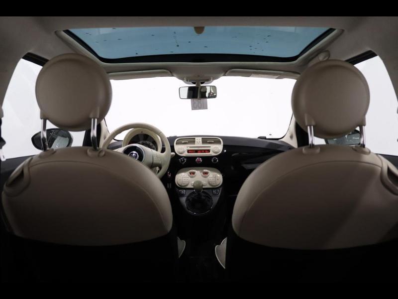 Photo 10 de l'offre de FIAT 500 1.2 8v 69ch Lounge à 10990€ chez Autovia Véhicules Multimarques