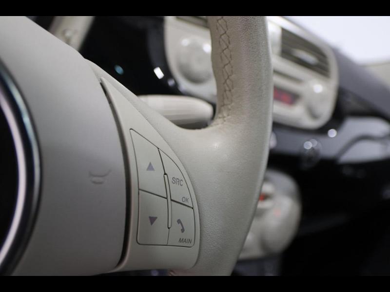 Photo 13 de l'offre de FIAT 500 1.2 8v 69ch Lounge à 10990€ chez Autovia Véhicules Multimarques