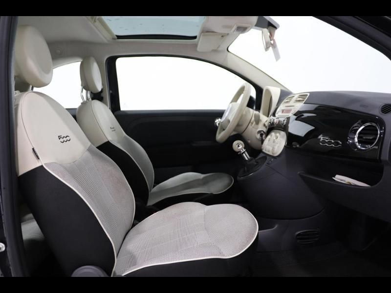 Photo 8 de l'offre de FIAT 500 1.2 8v 69ch Lounge à 10990€ chez Autovia Véhicules Multimarques