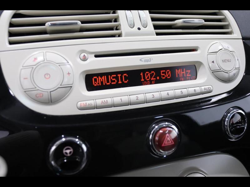 Photo 14 de l'offre de FIAT 500 1.2 8v 69ch Lounge à 10990€ chez Autovia Véhicules Multimarques