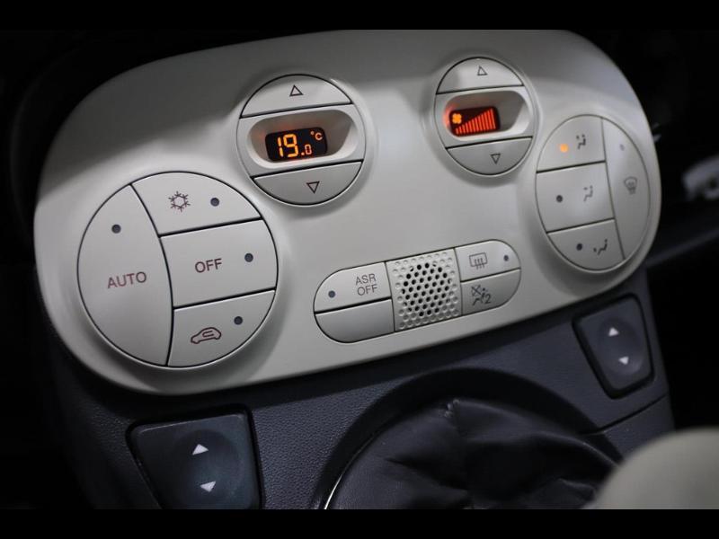 Photo 15 de l'offre de FIAT 500 1.2 8v 69ch Lounge à 10990€ chez Autovia Véhicules Multimarques