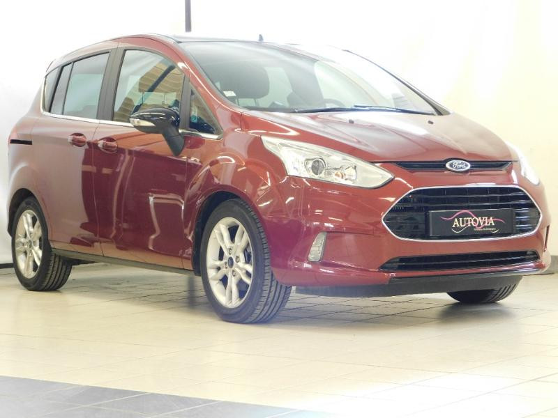 Ford B-MAX 1.0 SCTi 100ch EcoBoost Stop&Start Edition Essence ROUGE Occasion à vendre