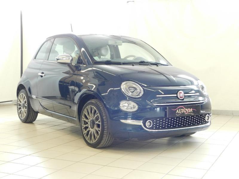 Fiat 500 1.2 8v 69ch Pop Essence Bleu Foncé Occasion à vendre