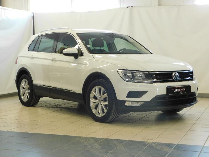 Volkswagen Tiguan 2.0 TDI 150ch BlueMotion Technology Confortline Diesel BLANC Occasion à vendre