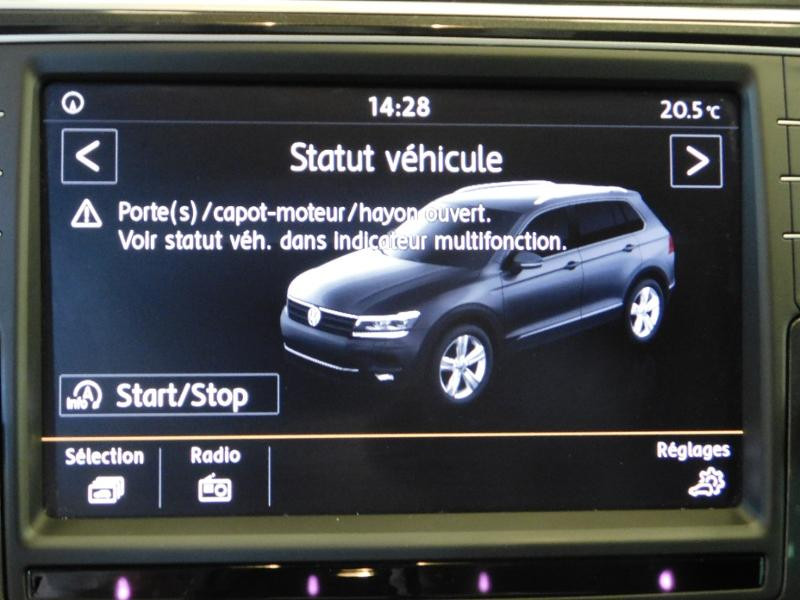 Photo 22 de l'offre de VOLKSWAGEN Tiguan 2.0 TDI 150ch BlueMotion Technology Confortline à 25690€ chez Autovia Véhicules Multimarques