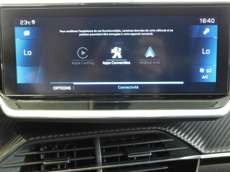 Photo 11 de l'offre de PEUGEOT 208 1.2 PureTech 100ch S&S Allure Pack EAT8 à 24690€ chez Autovia Véhicules Multimarques