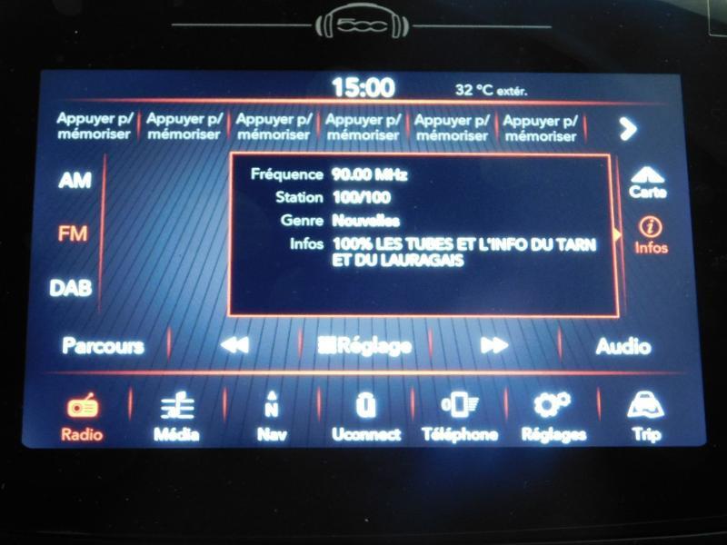 Photo 19 de l'offre de FIAT 500X 1.6 Multijet 130ch Sport à 25990€ chez Autovia Véhicules Multimarques