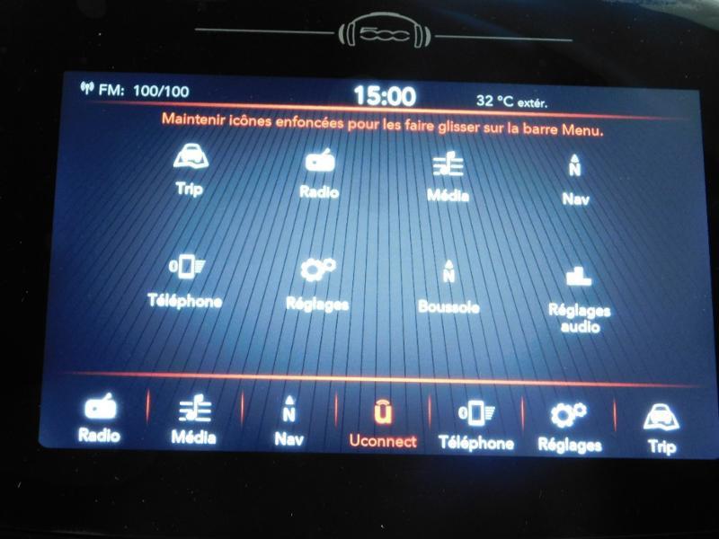 Photo 21 de l'offre de FIAT 500X 1.6 Multijet 130ch Sport à 25990€ chez Autovia Véhicules Multimarques