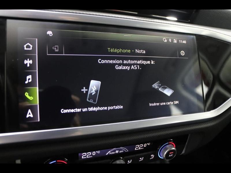 Photo 26 de l'offre de AUDI Q3 35 TFSI 150ch à 35990€ chez Autovia Véhicules Multimarques