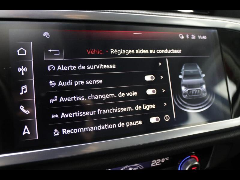 Photo 25 de l'offre de AUDI Q3 35 TFSI 150ch à 35990€ chez Autovia Véhicules Multimarques