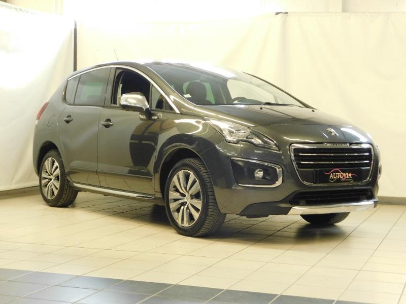Peugeot 3008 1.6 BlueHDi 120ch Style II S&S Diesel gris shark Occasion à vendre