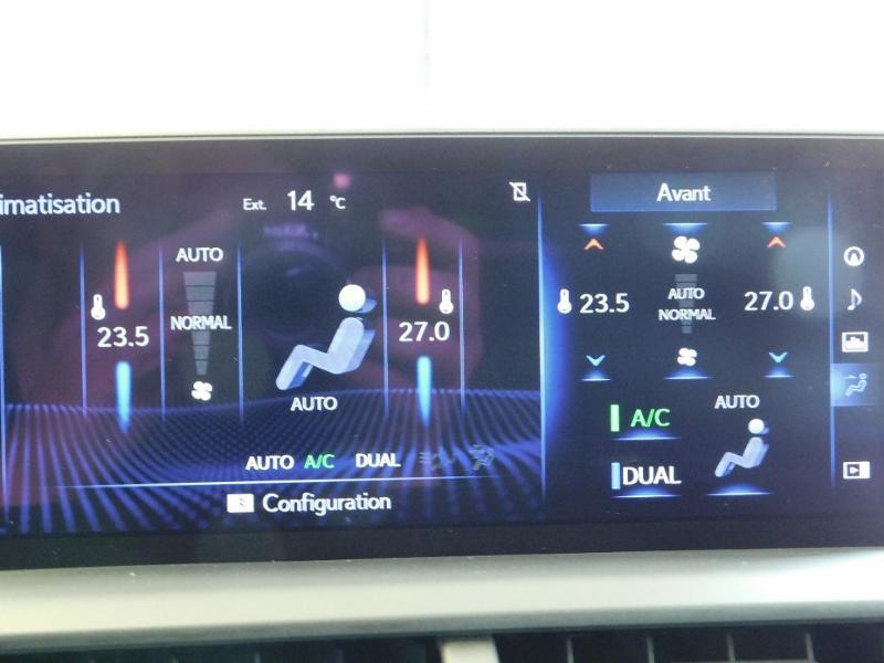 Photo 29 de l'offre de LEXUS NX 300h 4WD Luxe Euro6d-T à 35990€ chez Autovia Véhicules Multimarques
