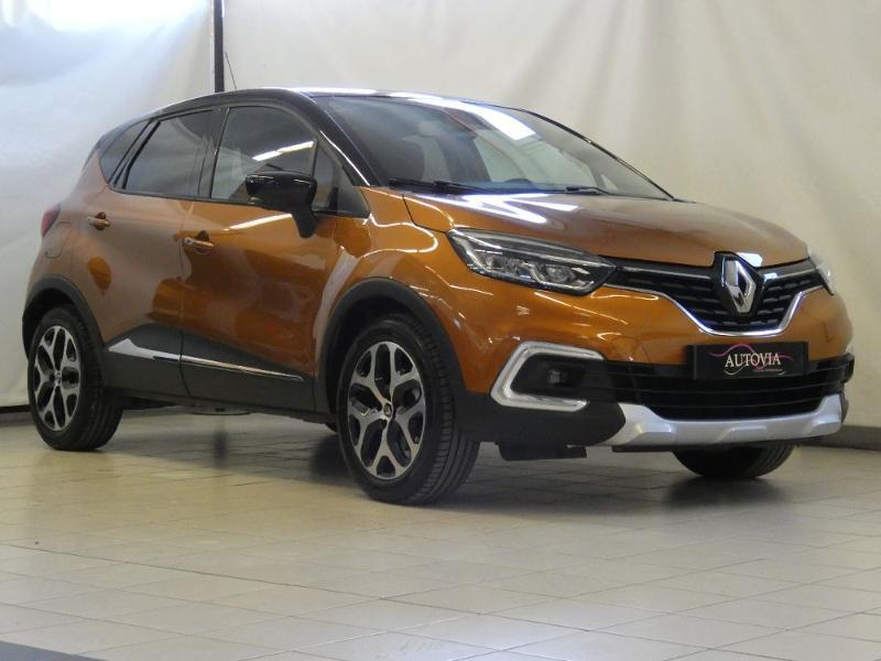 Renault Captur 1.5 dCi 90ch energy Intens Euro6c Diesel ORANGE/PAV NOIR Occasion à vendre