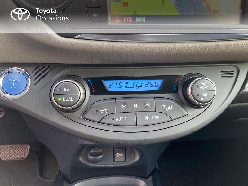 Photo 22 de l'offre de TOYOTA Yaris HSD 100h Collection 5p à 13990€ chez Rizzon Auto - Toyota St Brieuc