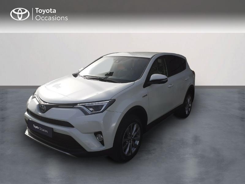 Toyota RAV4 197 Hybride Lounge 2WD CVT RC18 Hybride blanc Occasion à vendre
