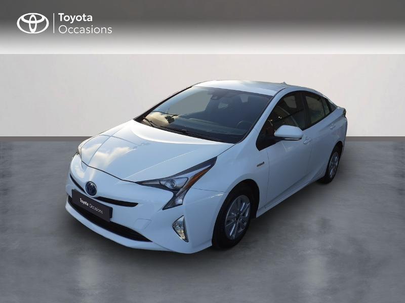 Toyota Prius 122h Dynamic Hybride blanc Occasion à vendre