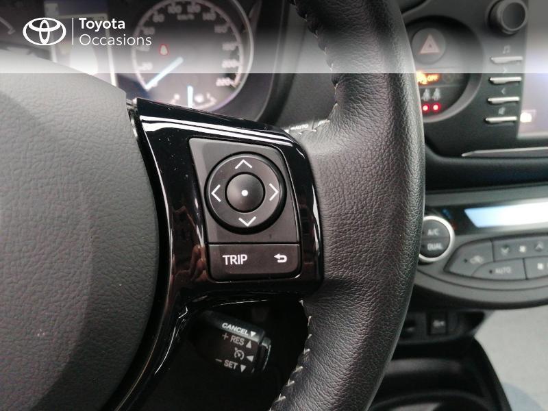 Photo 13 de l'offre de TOYOTA Yaris 100h Dynamic 5p MY19 à 13990€ chez Rizzon Auto - Toyota St Brieuc